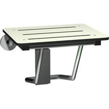 ASI (10-8203) Folding Seat Solid Phenolic - Ivory