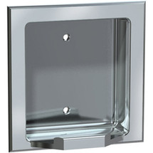 ASI (10-7404-BD) Recessed Soap Dish - Bright, For Dry Wall Installation