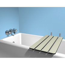 ASI (10-8358) Solid Phenolic fold-up Tub Seat - lvory