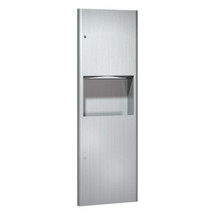 ASI (10-9462) Recessed Paper Towel Dispenser and Waste Receptacle
