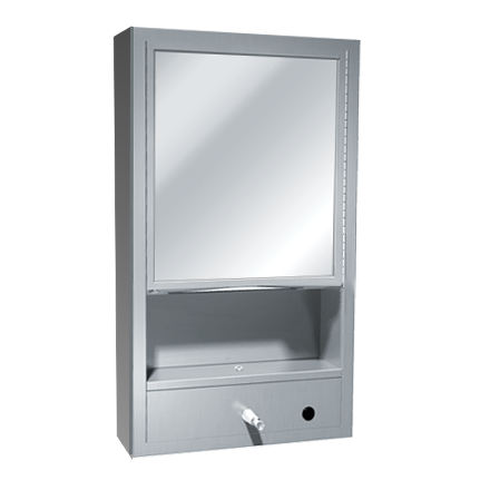 ASI (10-0430-9) Multi-Purpose Cabinet with Stainless Steel Collar for Surface Mounting