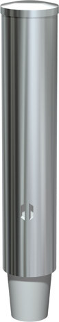 ASI (10-0002-SM) Stainless Steel Surfcae Mounted Paper Cup Dispenser