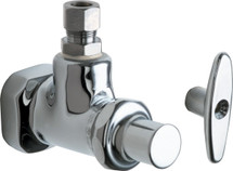 Chicago Faucets (1013-MMABCP)  Angle Stop Fitting with Loose Key