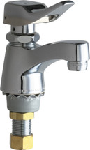 Chicago Faucets (333-336COLDABCP)  Single Supply Metering Sink Faucet