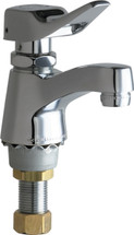 Chicago Faucets (333-336PSHABCP)  Single Supply Metering Sink Faucet