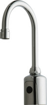 Chicago Faucets (116.213.AB.1) HyTronic Gooseneck Sink Faucet with Dual Beam Infrared Sensor