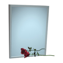 "ASI (10-0535-2436) Fixed Tilt Mirror, 24"" w x 36"" h"