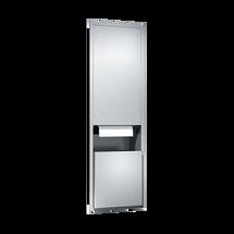 ASI (10-046921AC) Automatic Roll Paper Towel Dispenser & Waste Receptacle, 110-240VAC-Rec.