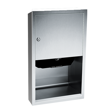 ASI (10-045210A-9) Automatic Roll Paper Towel Dispenser, Battery Operated - Surf. Mtd.