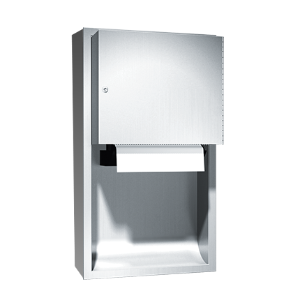 ASI (10-045224A-9) Automatic Roll Paper Towel Dispenser, Battery Operated - Surf. Mtd.