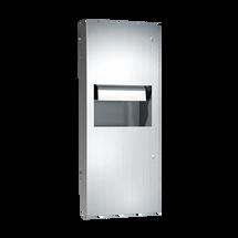 ASI (10-64696AC-6) Automatic Roll Towel Disp. & Waste Receptacle, 110-240VAC - Semi-Rec