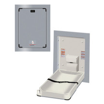ASI (10-9017) Baby Changing Station - Vertical Recessed  Stainless Steel  (New)