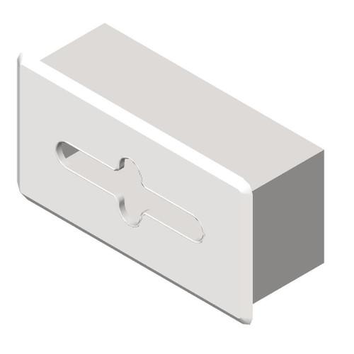 ASI (10-02594-SS) Facial Tissue Dispenser, Satin Finish - Recessed