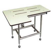 ASI (10-8202) Folding Seat, Solid Phenolic - L-Shape, Four Leg