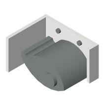 ASI (10-0795) Mop Holder (Single) - Surface Mounted