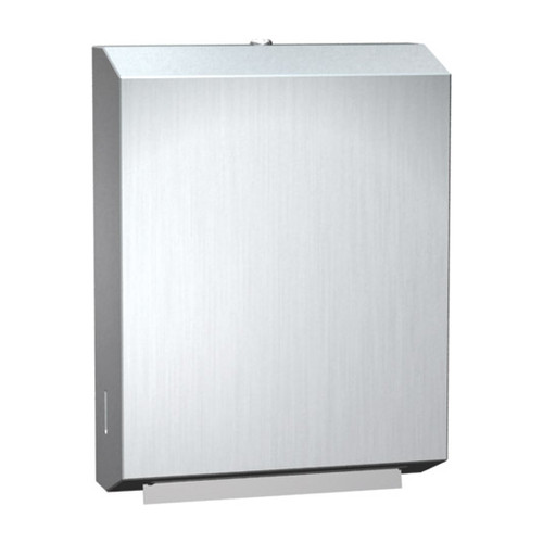 ASI (10-0210) Paper Towel Dispenser (Multi, C-Fold) - Surface Mounted, Stainless Steel