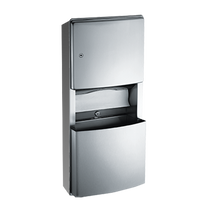 ASI (10-204623-9) Roval Surface Mounted Paper Towel Dispenser and Removable Waste Receptacle