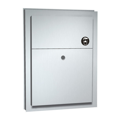 ASI (10-0472) Sanitary Napkin Disposal (Dual Access) - Partition Mounted