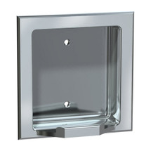 ASI (10-7404-SD) Soap Dish - Recessed, Satin, For Dry Wall Installation