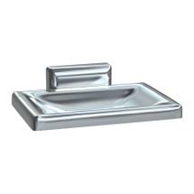 ASI (10-0721-Z) Soap Dish - Surface Mounted, Chrome Plated Zamak