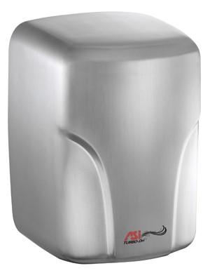 ASI (10-0197-1-93) TURBO-Dri High Speed Hand Dryer (110-120V) Satin Stainless Steel
