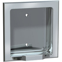 ASI (10-7404-BW) Recessed Soap Dish - Bright, For Wet Wall Installation (Requires Clamp Model #39)