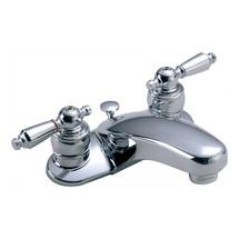Symmons (S-240-1-LAM-1.5) Symmetrix Two Handle Centerset Lavatory Faucet