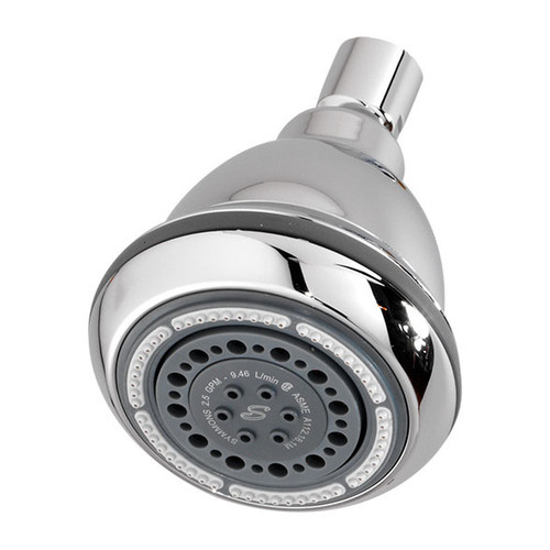 Symmons (4-423-STN) 3 Mode Showerhead (Ball Joint Type)