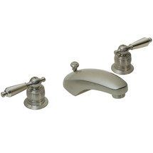 Symmons (S-244-LAM-1.5-STN) Origins Two Handle Widespread Lavatory Faucet