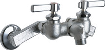 Chicago Faucets (305-RCF) Hot and Cold Water Sink Faucet