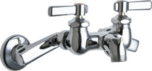 Chicago Faucets (305-RCP) Hot and Cold Water Sink Faucet