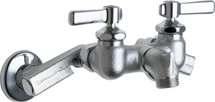Chicago Faucets (305-RRCF) Hot and Cold Water Sink Faucet