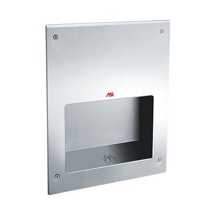 ASI (10-0198-MH-2) SAFE-Dri - Automatic High Speed Hand Dryer - (208-240V) - Recessed