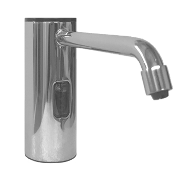 ASI (10-0334-B) Auto Soap Dispenser - Liquid - Battery/AC - Bright Stainless Steel - 50.7 oz. - Vanity Mounted