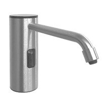 ASI (10-0334-S) Auto Soap Dispenser - Liquid - Battery/AC - Satin Stainless Steel - 50.7 oz. - Vanity Mounted