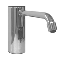 ASI (10-0335-B) Auto Soap Dispenser - Foam - Battery/AC - Bright Stainless Steel - 50.7 oz. - Vanity Mounted