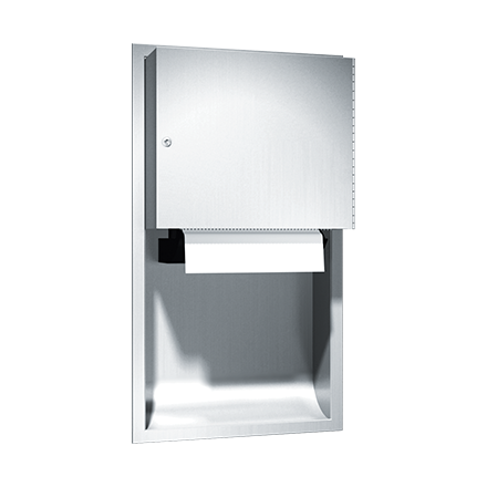 ASI (10-045224AC) Traditional - Auto Paper Towel Dispenser - Roll - (110-240V) - Recessed