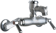 Chicago Faucets (305-VBRCF) Hot and Cold Water Sink Faucet