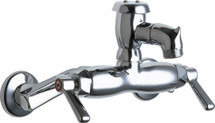 Chicago Faucets (305-VBRCP) Hot and Cold Water Sink Faucet