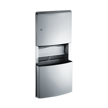 ASI (10-204623) Roval Recess Mounted Paper Towel Dispenser & Waste Receptacle