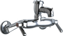 Chicago Faucets (305-VBRXKCP) Hot and Cold Water Sink Faucet