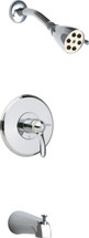 Chicago Faucets (1905-TK600CP) Tub and Shower Trim Kit with Shower Head and Diverter Tub Spout