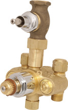 Chicago Faucets (2500-VOCP) TempShield Thermostatic Pressure Balancing Shower Valve Only