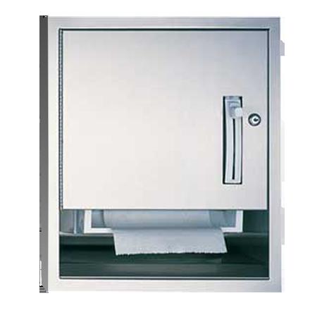 ASI (10-04523-6) Semi-Recessed Roll Paper Towel Dispenser