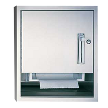 ASI (10-04523-6) Semi-Recessed Roll Paper Towel Dispenser