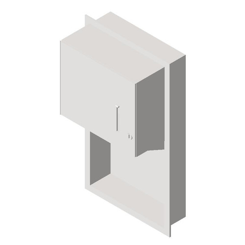 ASI (10-045224) Roll Paper Towel Dispenser- Recessed
