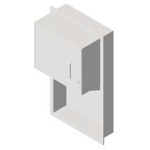 ASI (10-045224-9) Roll Paper Towel Dispenser- Surface Mtd.