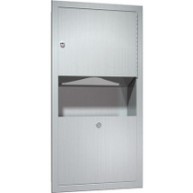 ASI (10-0462-AD) Recessed Paper Towel Dispenser & Waste Receptacle