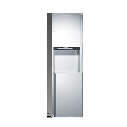 ASI (10-0469-9) Surface Mounted Paper Towel Dispenser & Waste Receptacle