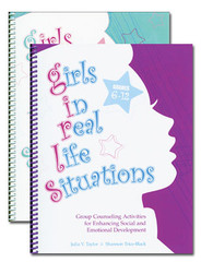 Girls in Real Life Situations with CDs: K-5 & 6-12
